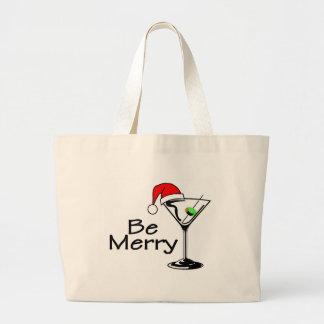 Sea Felices Navidad Martini Bolsas