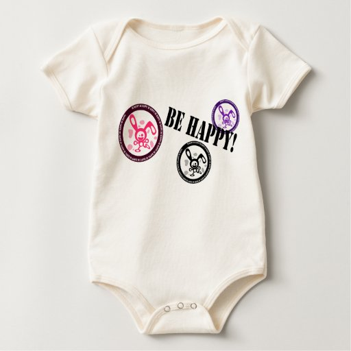 ¡Sea feliz!! Body Para Bebé