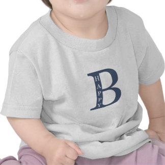 Sea feliz (buenos azules) camiseta