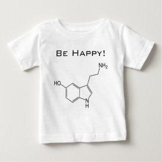 ¡Sea feliz! Camiseta del niño de la serotonina