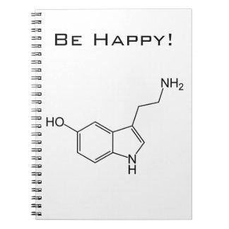 ¡Sea feliz! Cuaderno de la serotonina