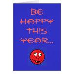 Sea FELIZ este año… Tarjeta De Felicitación