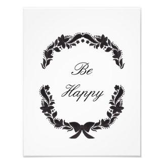 Sea feliz fotografía