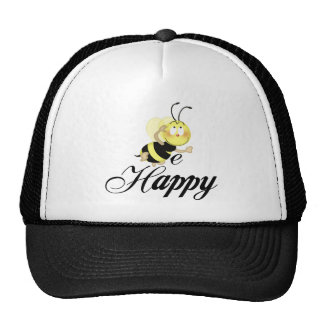 Sea feliz gorros bordados