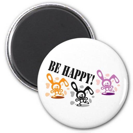 ¡Sea feliz! Iman De Nevera
