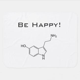 ¡Sea feliz! Manta del bebé de la serotonina Manta De Bebé