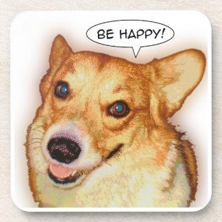 Sea feliz posavasos