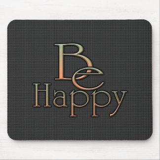 Sea feliz tapetes de ratones