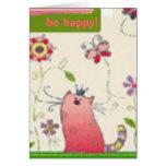 ¡sea feliz! tarjeton