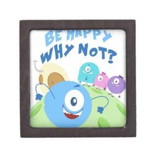Sea feliz Yum Yum Cajas De Regalo De Calidad