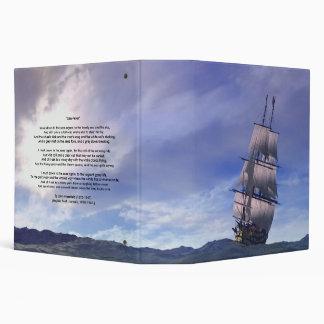 """Sea Fever' 2"" ring binder. Binder"