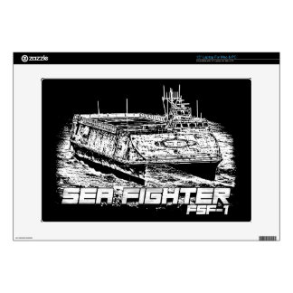 "Sea Fighter 15"" Laptop For Mac & PC Skin Decals For Laptops"