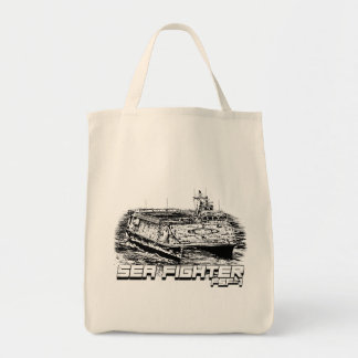 Sea Fighter Grocery Tote