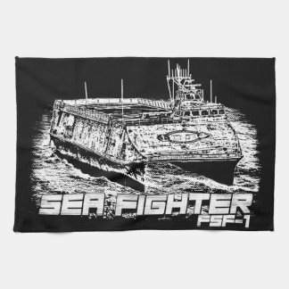 Sea Fighter Kitchen Towels