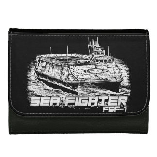 Sea Fighter Medium Leather Wallet