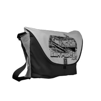 Sea Fighter Outside Print Bag