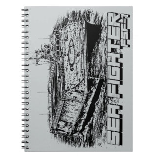 Sea Fighter Photo Notebook (80 Pages B&W)