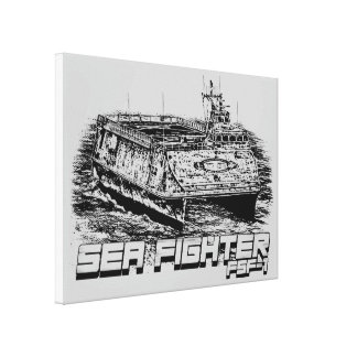 Sea Fighter Wrapped Canvas