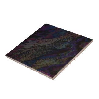 Sea floor flowers tile. tile