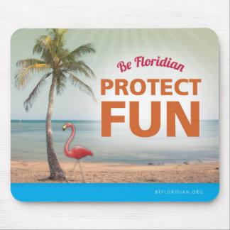 Sea Floridian protegen el cojín de ratón de la div Alfombrilla De Ratón