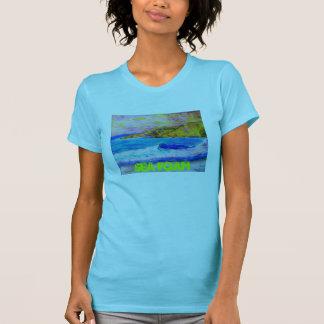 sea foam art t-shirt