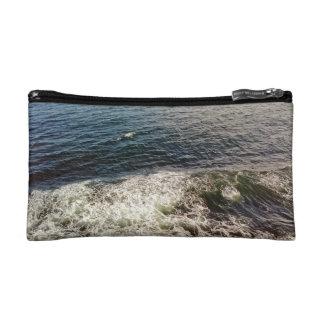 Sea Foam Bagettes Bag Makeup Bag