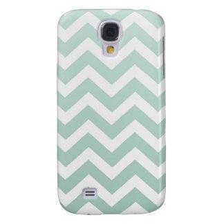 Sea Foam Green Ombre Chevron Samsung Galaxy S4 Covers