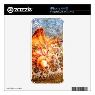 Sea Foam iPhone 4 Skin