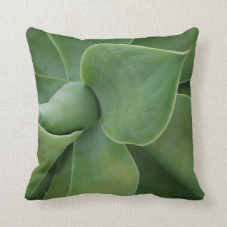 Sea Foam Mint Green Agave Accent Pillow