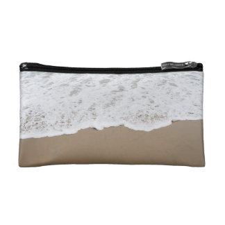Sea foam, Ocean Waves Makeup Bag