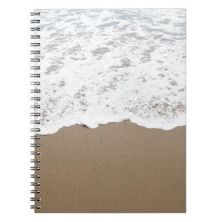Sea foam, Ocean Waves Notebook