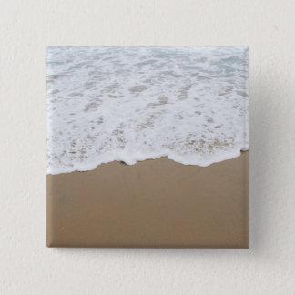 Sea foam, Ocean Waves Pinback Button