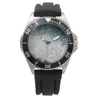 Sea Foam Photo Wristwatch