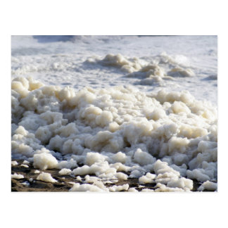 Sea Foam pileup Postcard