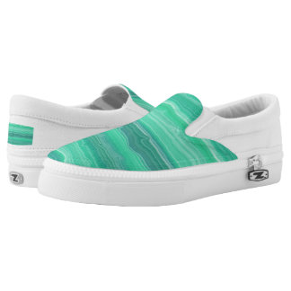 Sea Foam Slip-On Sneakers