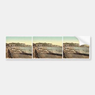 Sea front, Dover, England rare Photochrom Bumper Stickers