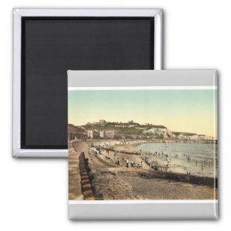 Sea front, Dover, England rare Photochrom Magnet