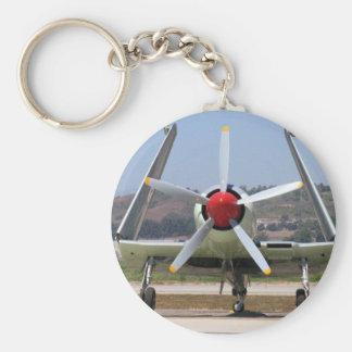Sea Fury Wings Folded Key Chain