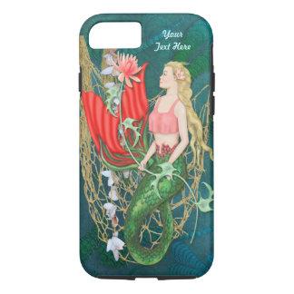 Sea Garden Mermaid Fantasy Case For iPhone 7