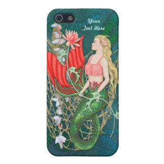 Sea Garden Mermaid Fantasy iPhone 5 case