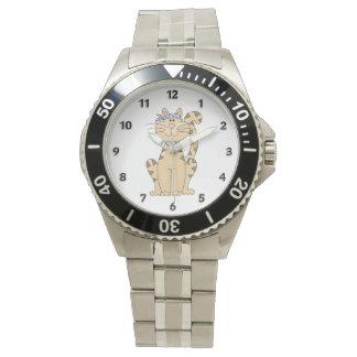 Sea gato fresco relojes