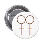 Sea gay orgulloso pin