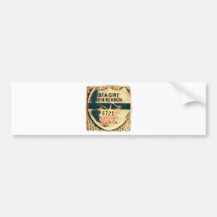 Sea Girt Beach Badge Per Sticker