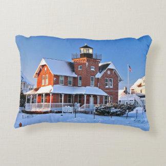 Sea Girt Lighthouse, New Jersey Accent Pillow