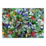 Sea Glass - 2 Greeting Cards