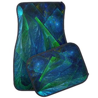 Sea Glass 3D Abstract Floor Mat