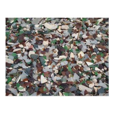 Nature_Explorer Sea Glass at Glass Beach - Bermuda Postcard