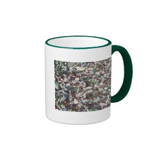 Sea Glass at Glass Beach - Bermuda Ringer Mug