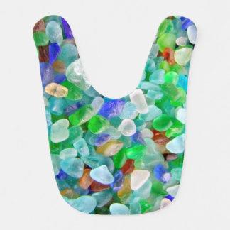Sea Glass Baby Bib