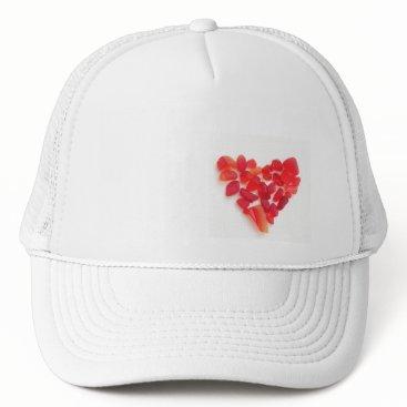 Beach Themed Sea glass baseball cap! I heart sea glass... Trucker Hat